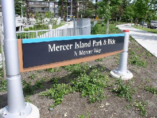 Government Mercer Island Park and Ride